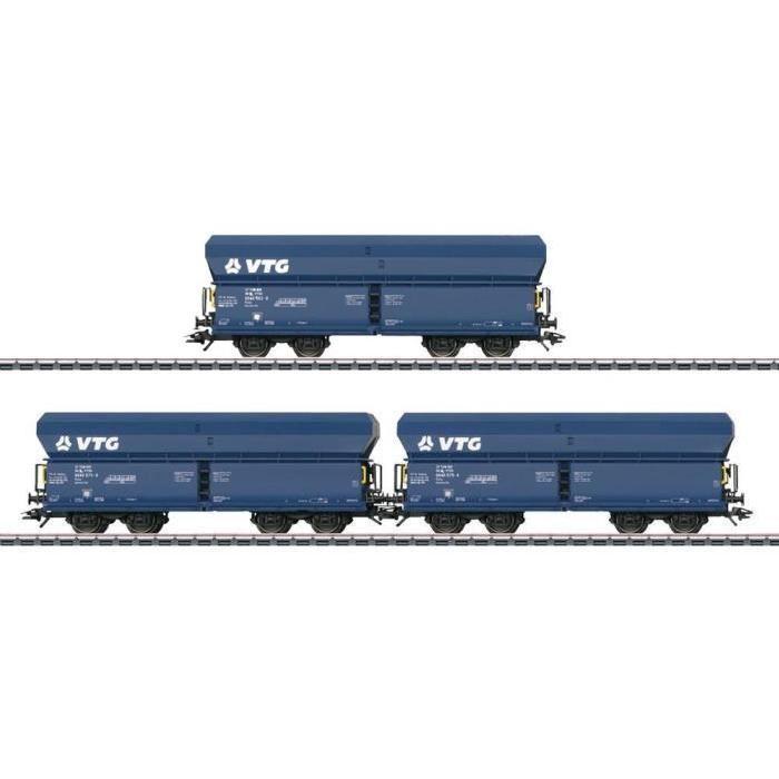 Wagons avec toits MARKLIN 46265 H0 VTG Modèles réels : 3 Wagons