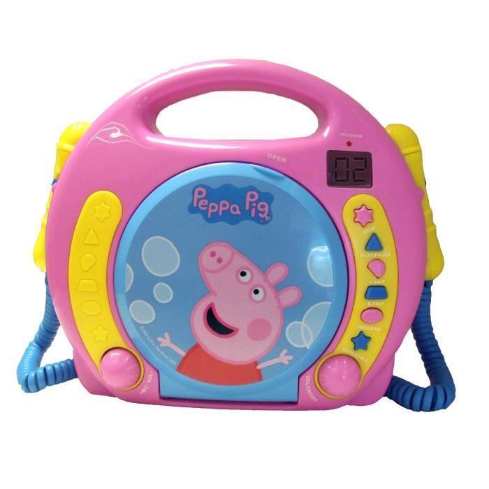 PIG Lecteur CD Boombox avec Double Micro Achat / Vente radio cd