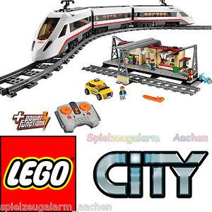 LEGO city set 60051 60050 train a grande vitesse High speed passenger
