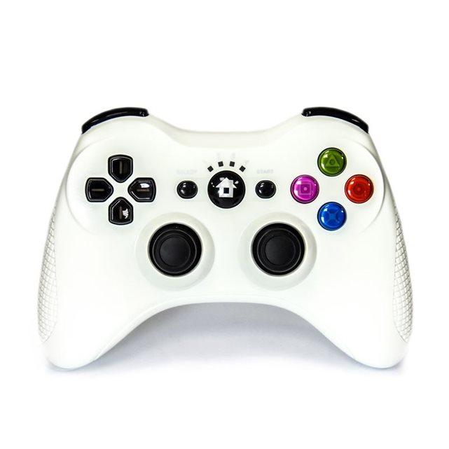 de jeu Bluetooth sans fil pour Playstation 3 Blanche