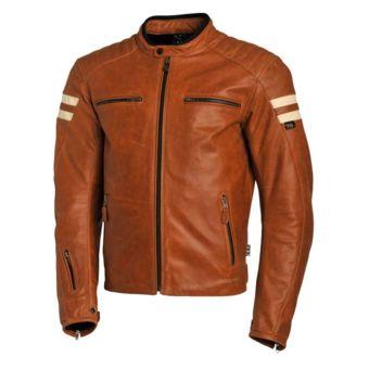 Segura Blouson moto cuir Retro Camel Camel Xl Neuf Camel pas cher