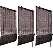 tringles à rideaux de bambou