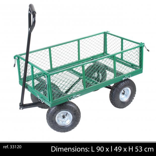 vente chariot de jardin metal brouette remorque de jardin en metal