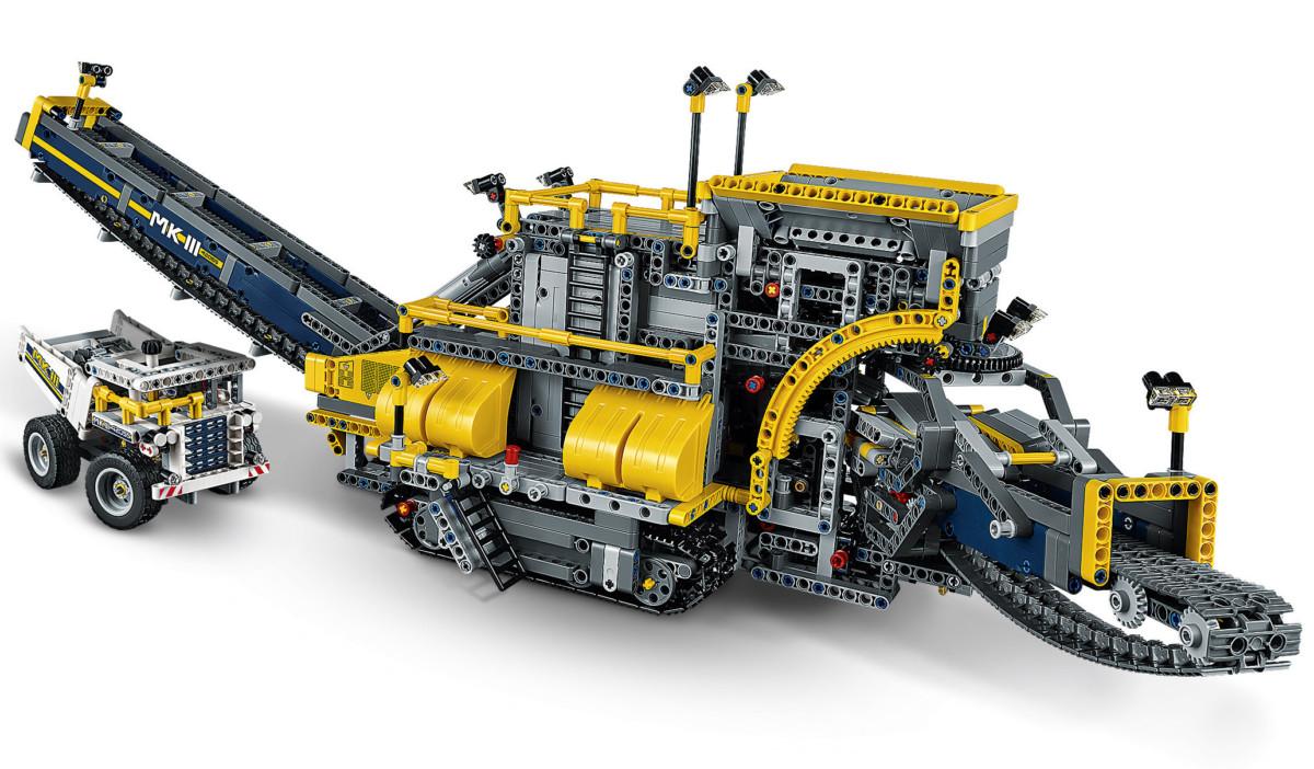 LEGO® Technic 42055 La Pelleteuse à Godets Achat / Vente