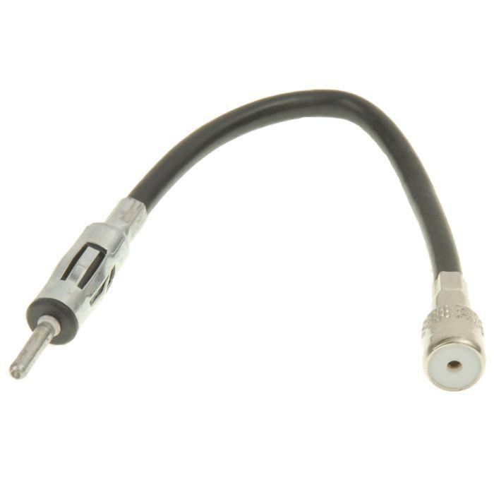 Câble adaptateur d'antenne iso autoradio : DIN : Sdx car audio