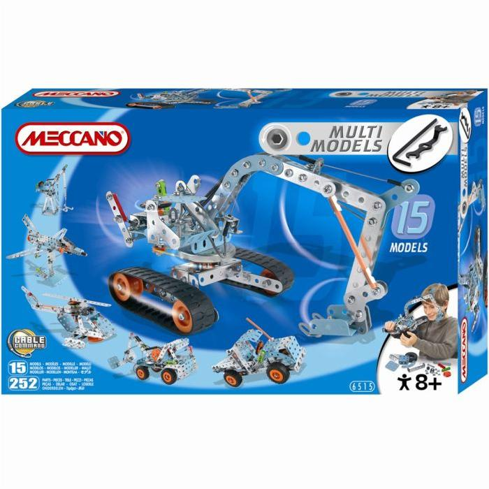 Meccano 15 Modèles Set Achat / Vente Meccano 15 Modèles Set
