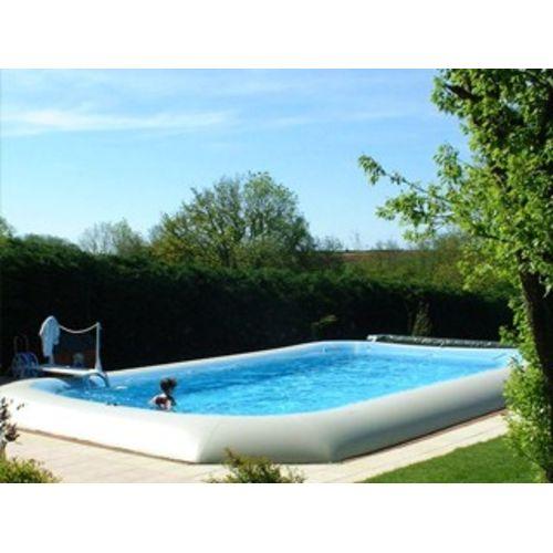 piscine hors sol autoportante Hippo 65 rectangulaire 16.55 x 8.20 x 1