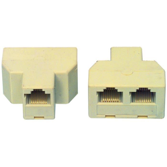 CABLING® Doubleur fiche RJ45 Femelle Achat / Vente câble réseau