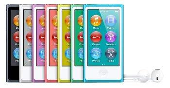 Bleu (7ème génération) Nouveau: Lecteurs MP3 & Casques