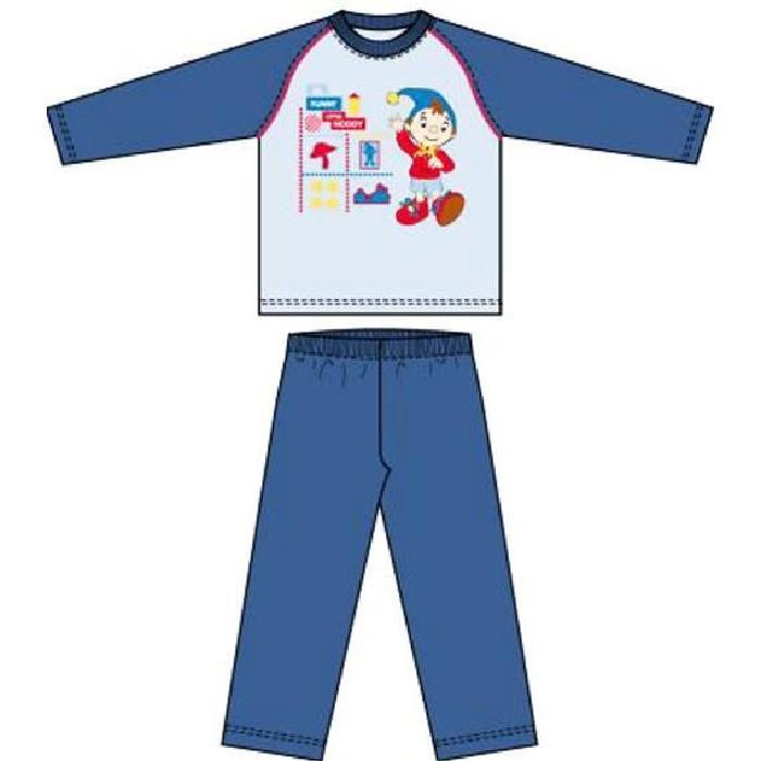 Pyjama long enfant garçon Oui Oui Bleu/marine Pyjama enfant Oui