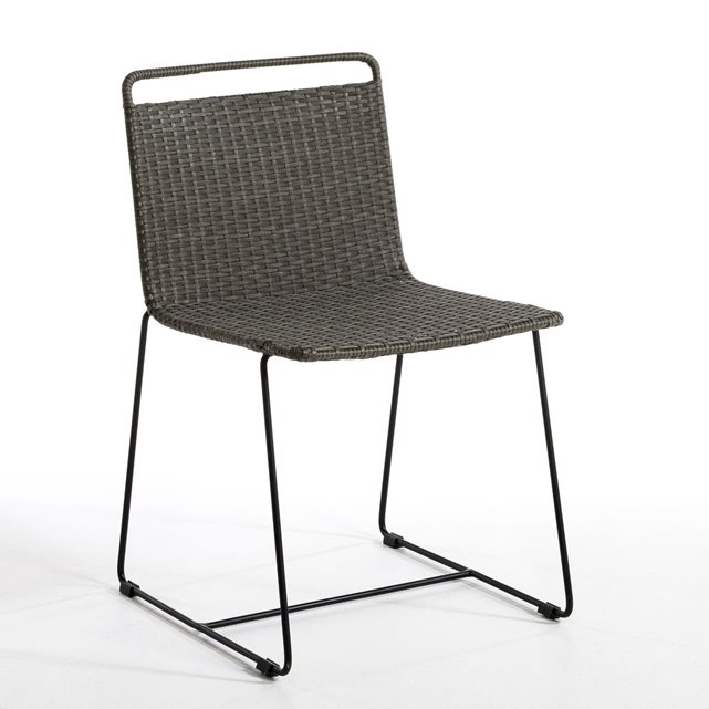 Chaise de jardin ambros, design e. gallina anthracite Am.Pm | La