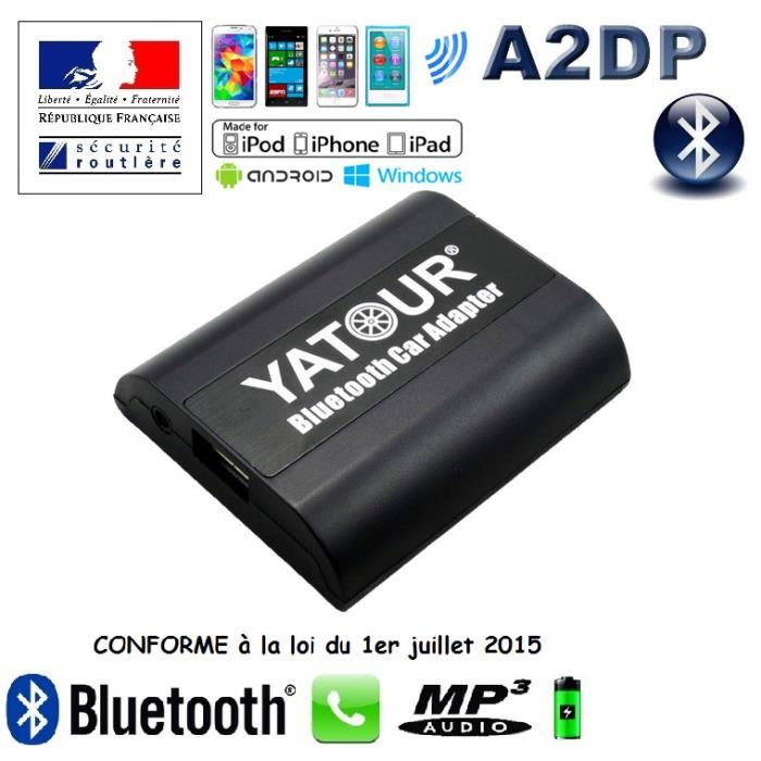 / Vente kit bluetooth gps Interface kit main libre B