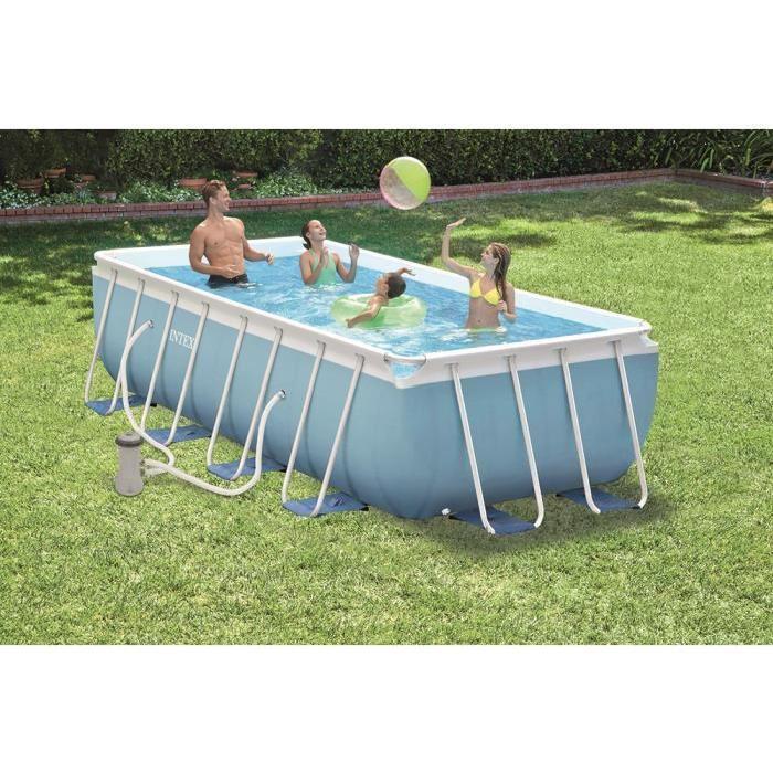 rectangulaire 4 x 2 x 1m Achat / Vente piscine Kit Piscine Tubulaire