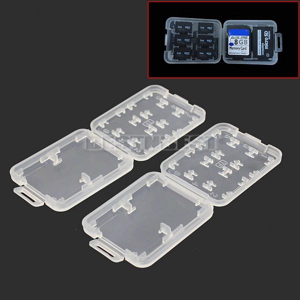Boitiers Protection Carte Mémoire Boîte Rangement Pour MS Micro SD