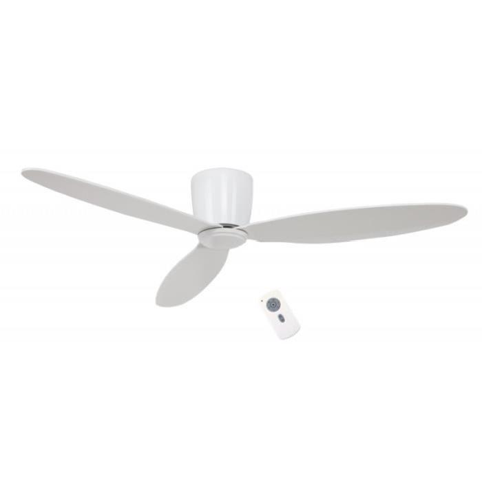 CASAFAN garantie 25 ans !Ventilateur de plafond 132 cm laqué blanc