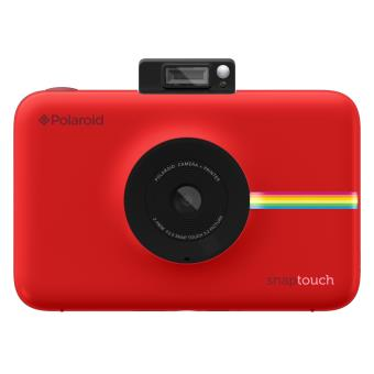 Appareil photo instantané Polaroid Snap Touch Rouge Appareil photo