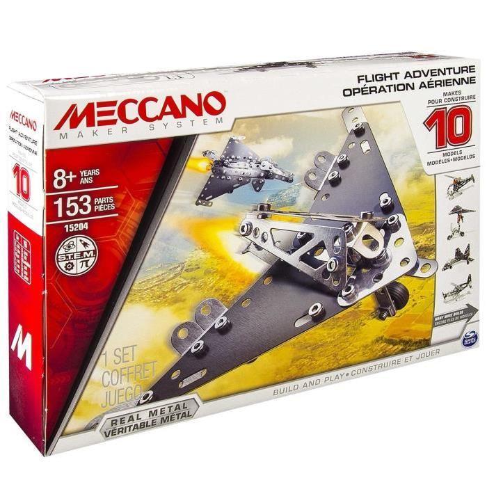 MECCANO Operation Aérienne, 10 Modèles Meccano Achat / Vente