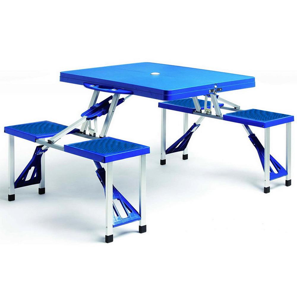 Table chaises pliant jardin ensemble pique nique camping pliable salon