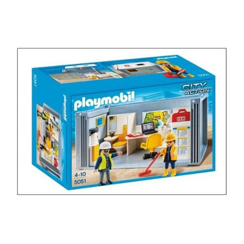 PLAYMOBIL 5051 City Action Conteneur de chantier Playmobil