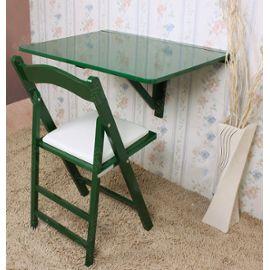 Table Murale Rabattable, Table Pliante, Table Bois, Table De Repas