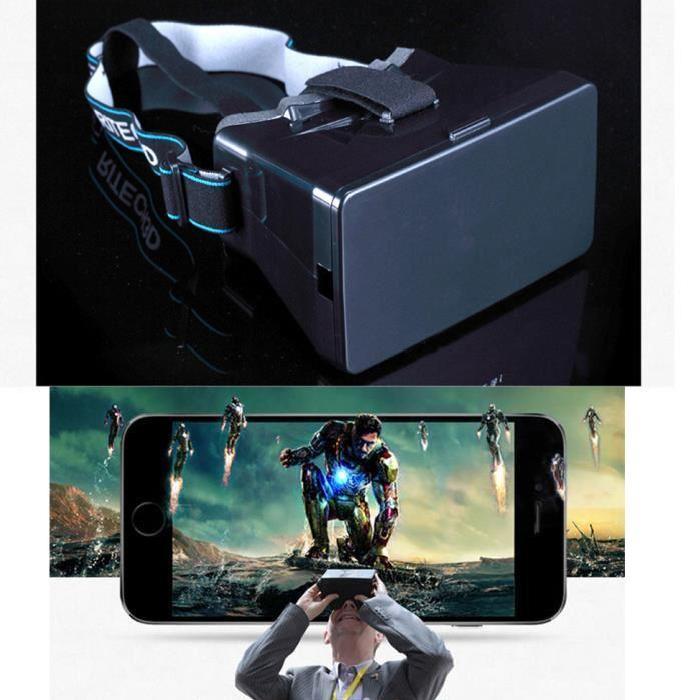 3d lunette realite virtuelle google cardboard 3d e