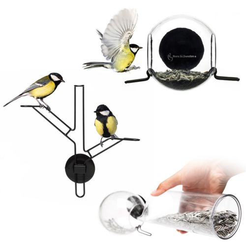Kit Nourriture pour oiseaux Born in Sweden Bird Feeder