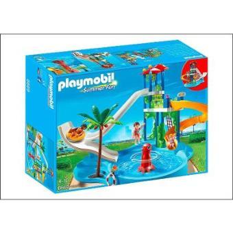 aquatique avec toboggans géants Playmobil Achat & prix | fnac