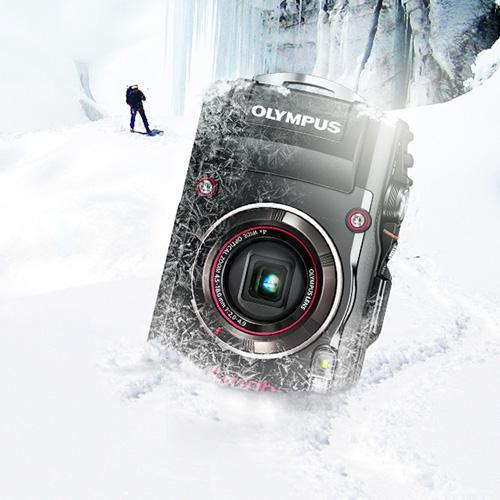 Olympus Tough TG 4 Appareil photo numérique 16,76 Mpix Écran 3″ Zoom