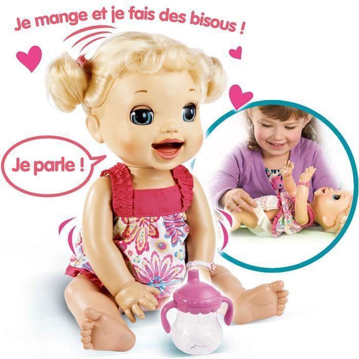 Baby Alive 40 cm Electronique Lèvres animées Achat / Vente