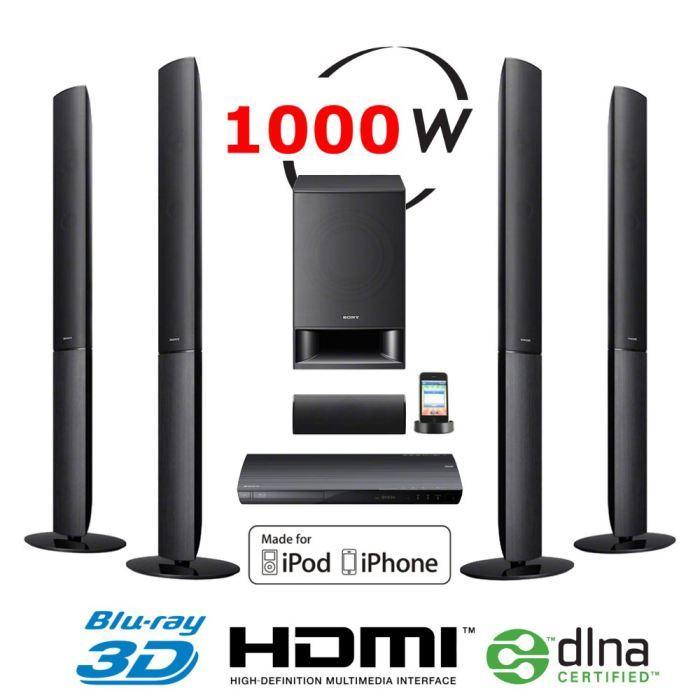 SONY BDVE690 Home Cinéma 5.1 Blu Ray 3D Achat / Vente ensemble home