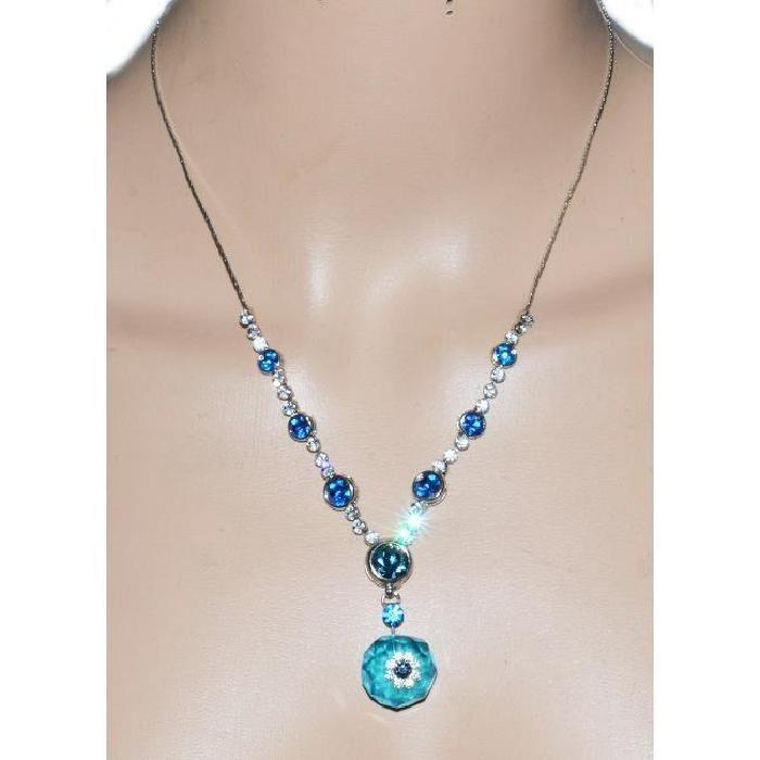 Vente sautoir et collier COLLIER BLEU ROI & TURQUOIS Bleu Turquoise