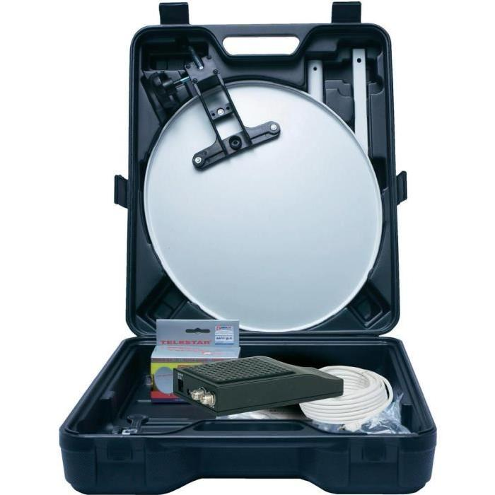 Kit satellite pour camping Telestar Telemini HD L Kit de camping