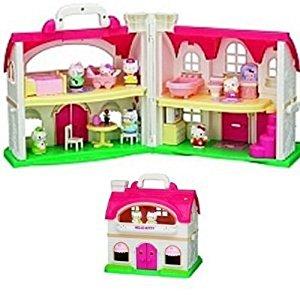 Pazapa BJ290237 Poupée et Mini Poupée Hello Kitty Maison du