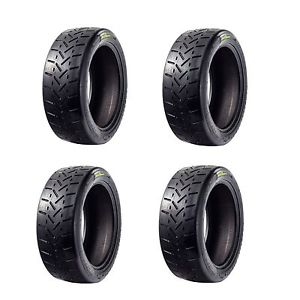 x4 Maxsport 225 45 17 RB5 Moulded Slick Tarmac Rally Tyre 225 45 R17