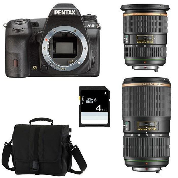 PENTAX K3 Noir + SMC DA 16 50 f/2.8 SDM + 50 13? Achat / Vente