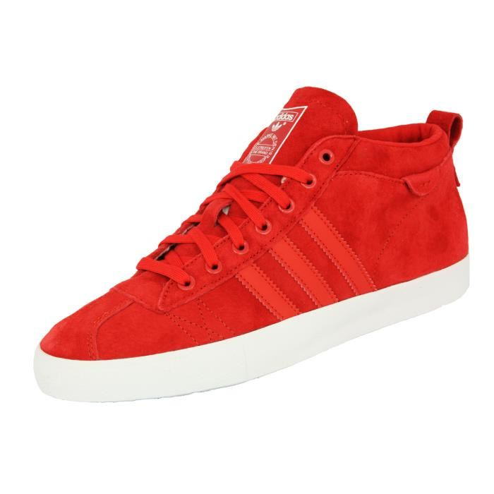 Adidas GAZELLE 50S MID Chaussures Mode Sneakers Ho Rouge Rouge Achat