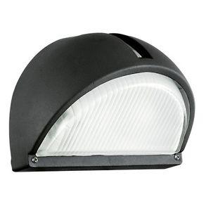 Applique extérieure Design Moderne Lampe murale noire Luminaire de