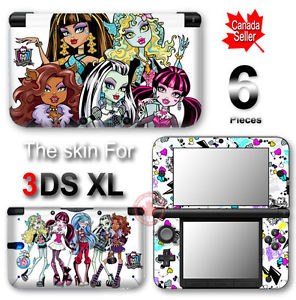 sur Monster High VINYL SKIN STICKER DECAL COVER #2 for Nintendo 3DS XL