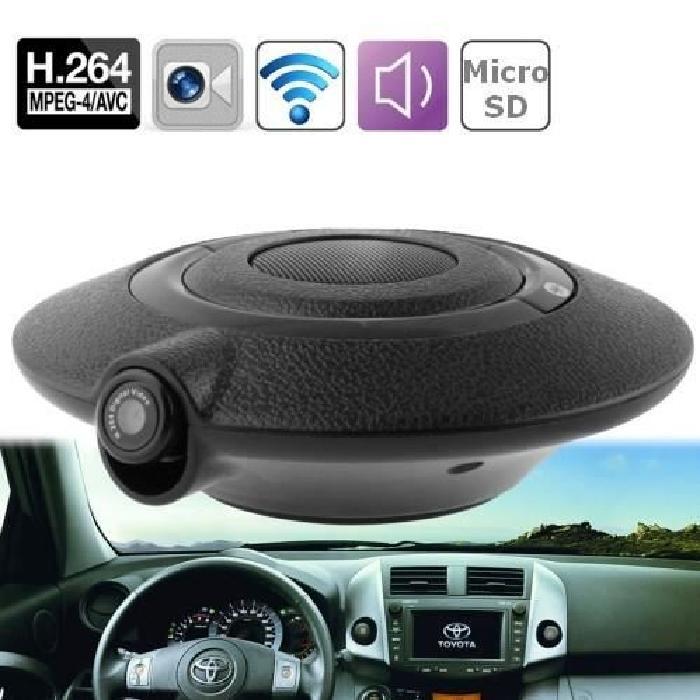 Caméra UFO voiture 0.3MP & Kit Bluetooth voiture Achat