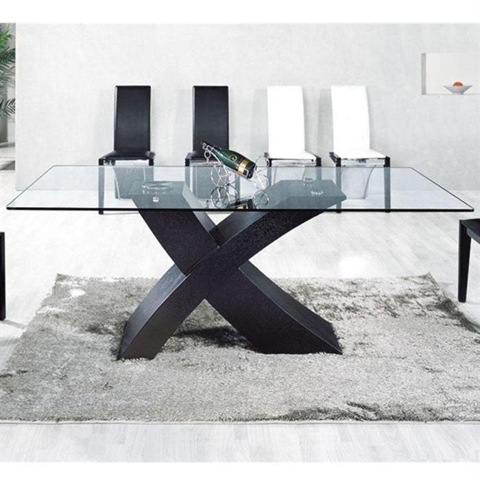 Pieds pour table en verre topiwall for Position verre sur table