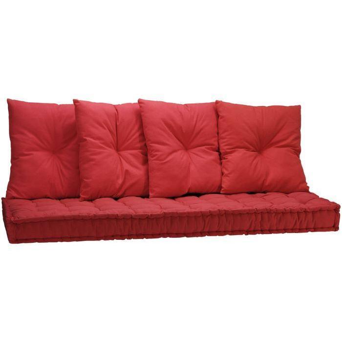 Matelas futon + 4 coussins HELIOS Achat / Vente futon
