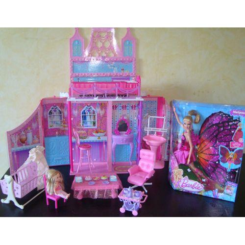 Maison barbie topiwall - Barbie maison de reve ...