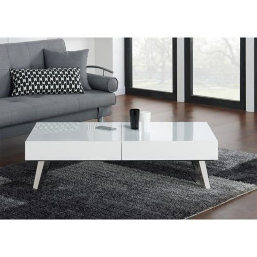 table basse laquee blanc topiwall. Black Bedroom Furniture Sets. Home Design Ideas