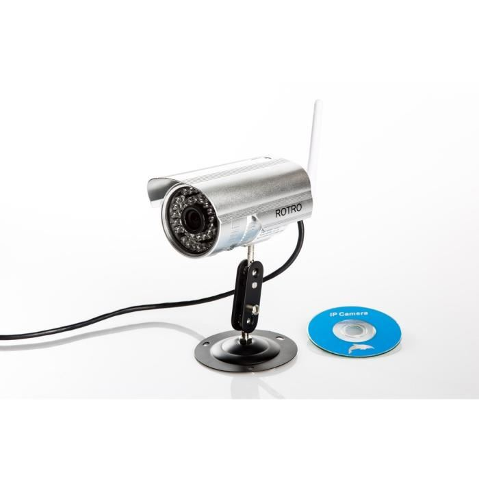 Camera de surveillance wifi topiwall for Camera exterieur sans fil