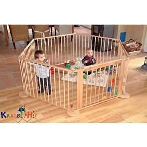 KRABBEL HIT Parc enfant «Gran Paradiso» barrière de sécurité