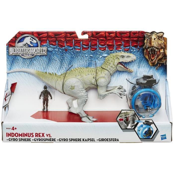 JURASSIC WORLD Indominus Rex Vs Gyro Sphère Achat / Vente figurine