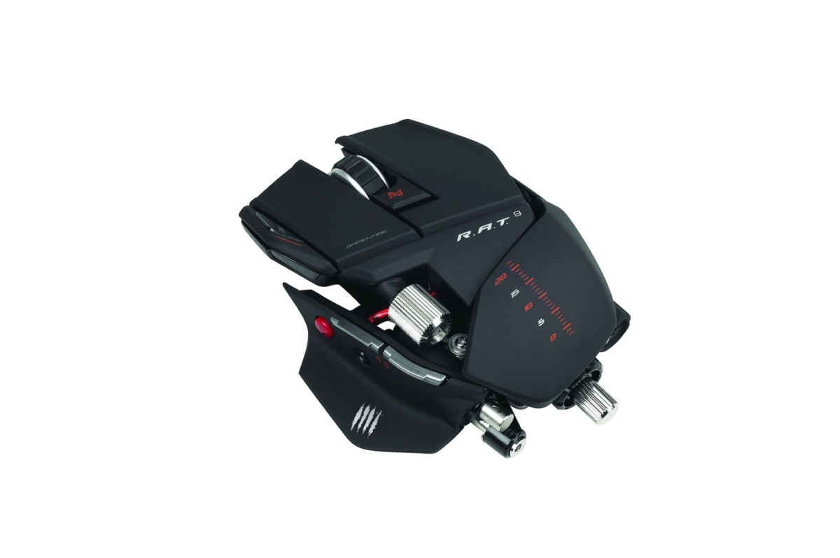 Souris gamer Mad Catz RAT 9 (1395360) |