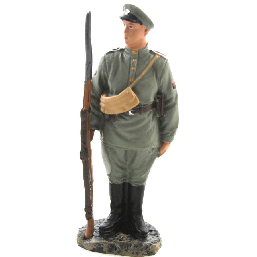 Figurine soldat de plomb de la 1ere guerre mondiale la femme soldat