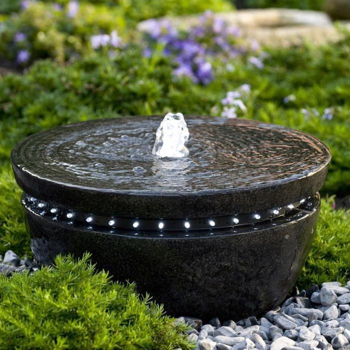 de Jardin LED CANBERRA Achat / Vente fontaine de jardin Fontaine de