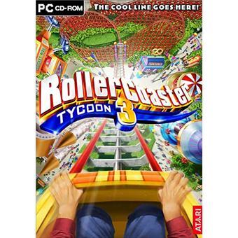 Roller Coaster Tycoon 3 sur PC Jeux vidéo Achat & prix Fnac